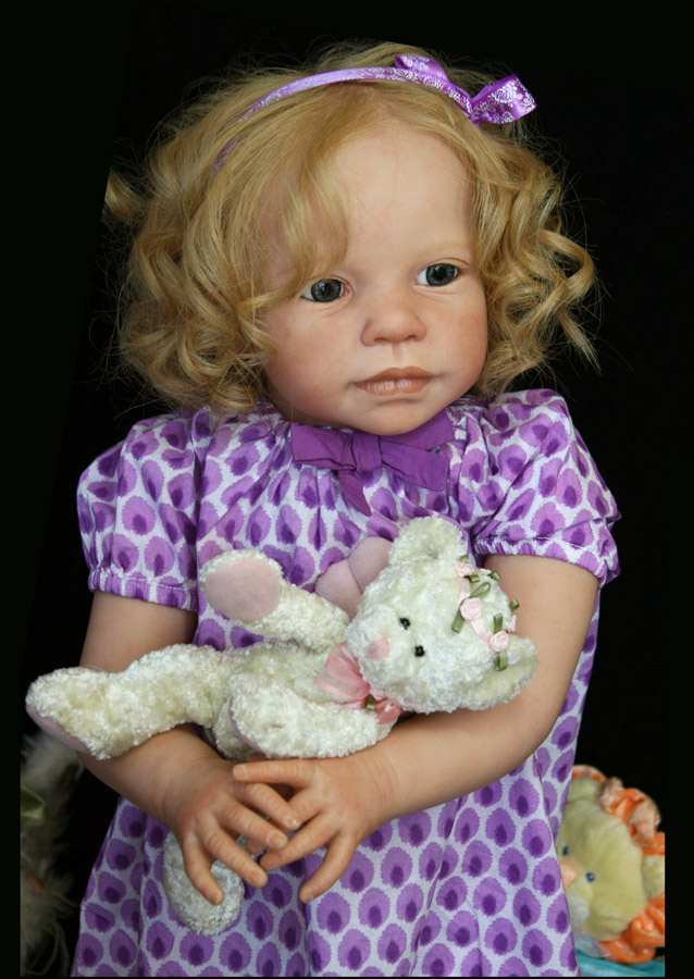 Details about lifelike reborn dream baby girl doll toddler realistic